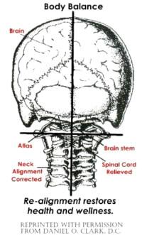 upper cervical chart